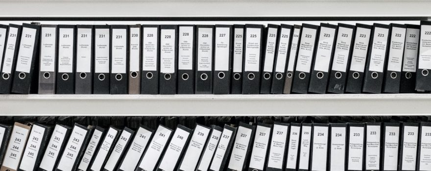 How to setup an effective filing system for your business